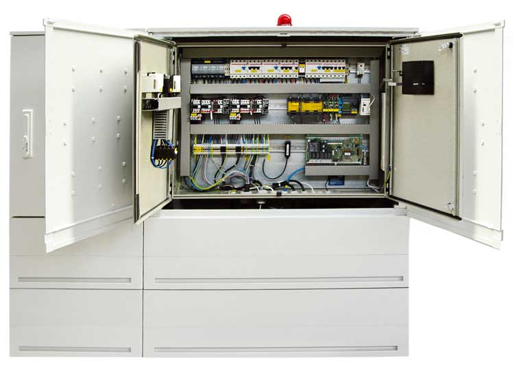 Freiluft Schaltschrank FS-ROM-2-System